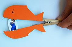 Chinderziit :: Fischklammer mit Jona